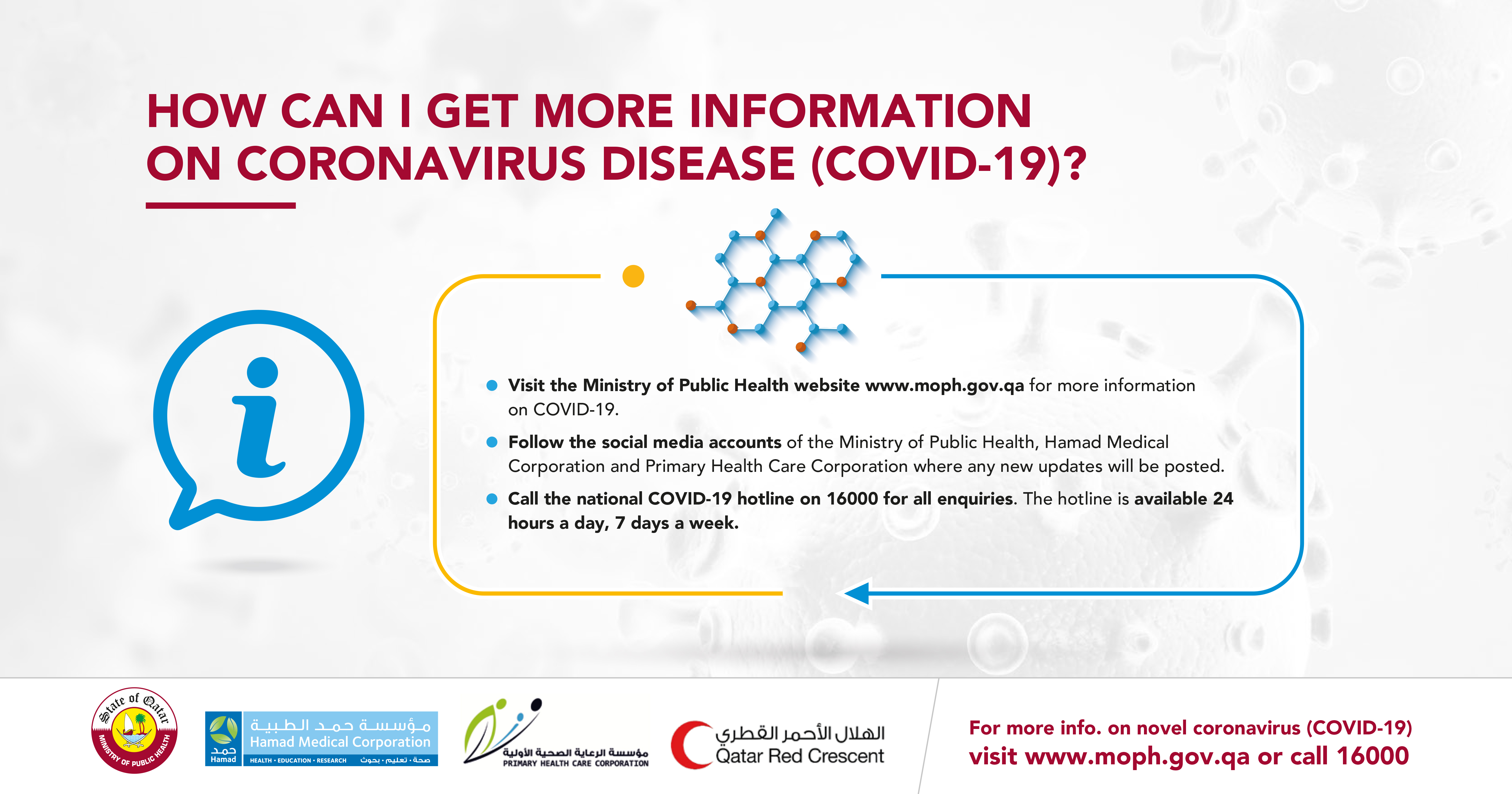 How can I Get More Information on (COVID-19)