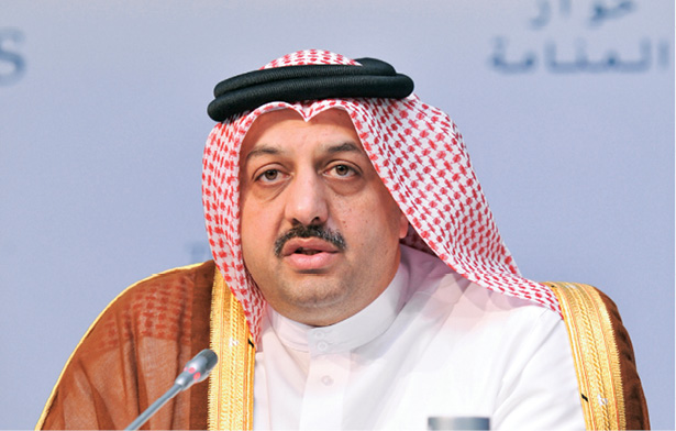 HE Minister of Foreign Affairs Dr. Khalid bin Mohamed Al-Attiyah