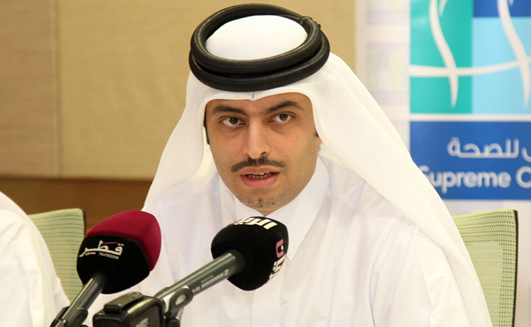 Dr Sheikh Mohammed Bin Hamad Al Thani, Director of Public Health Department at the SCH