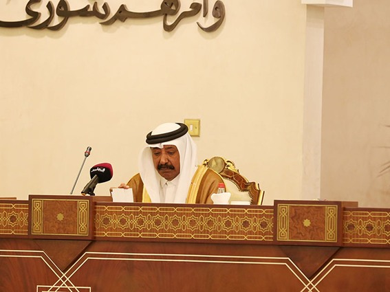 HE the Speaker of the Advisory Council, Mohamed bin Mubarak al-Kholaifi